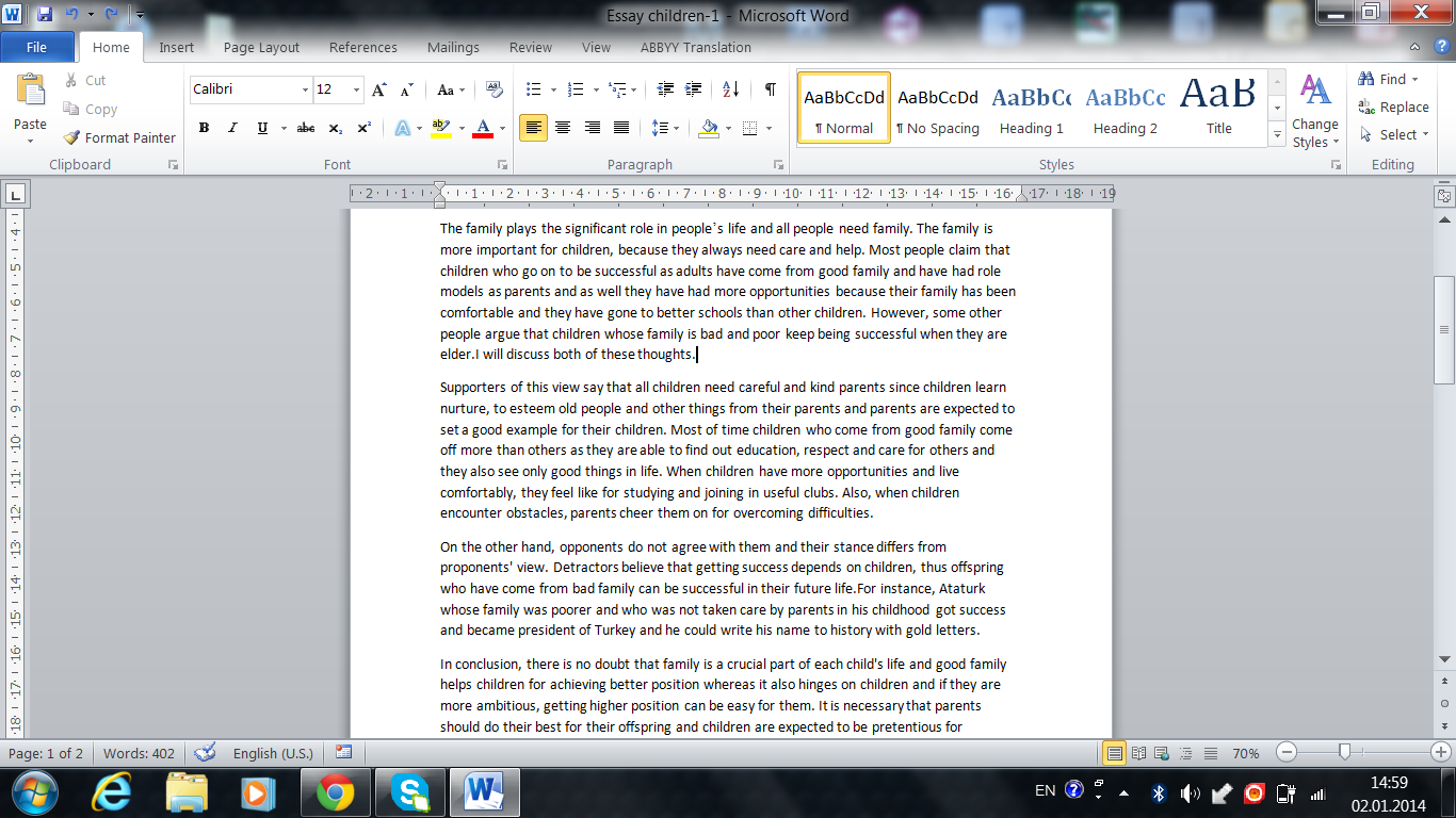 August rush essays about love