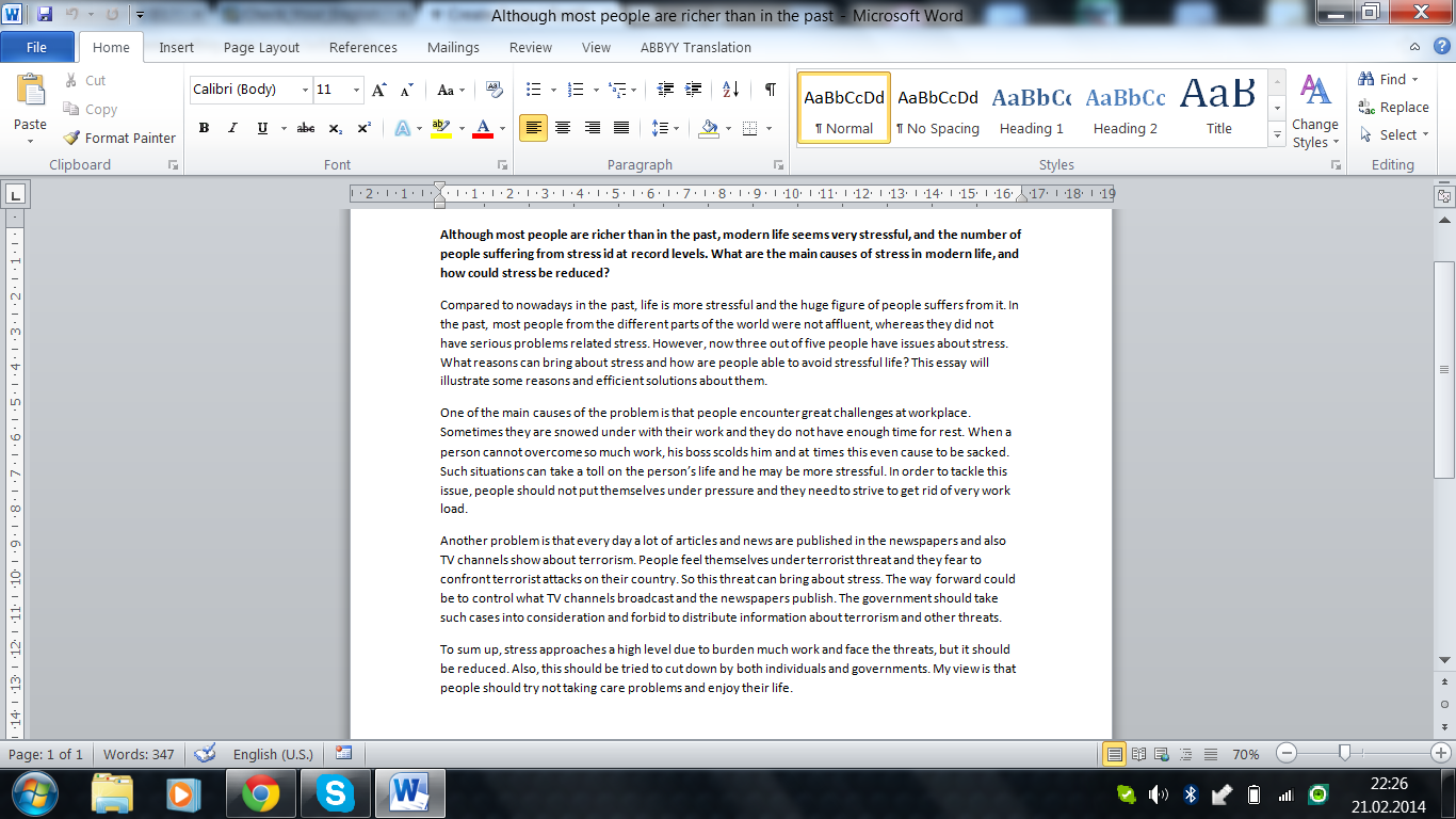 Cl final reflective essay