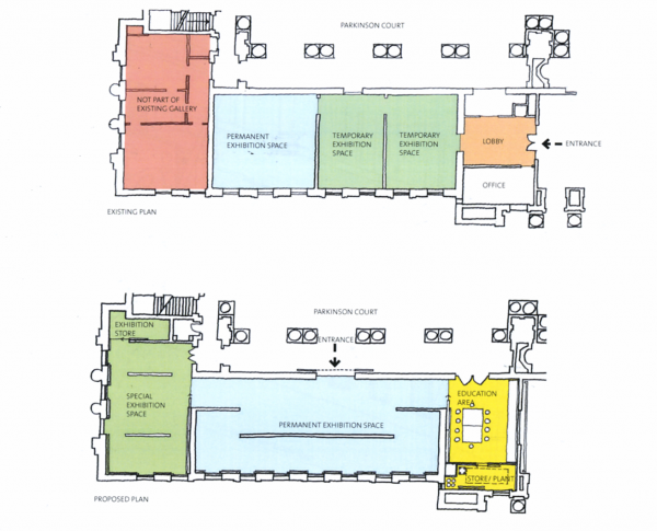The Diagrams Below Are Existing And Proposed Floor Plans