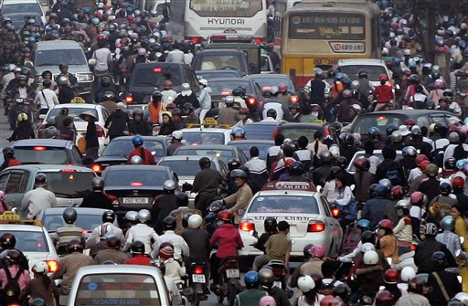 Ielts essay on traffic congestion
